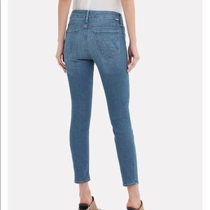 NWT Mother the Looker Ankle Skinny Jeans